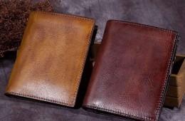 Sử dụng và bảo quản ví nam da bò đúng cách