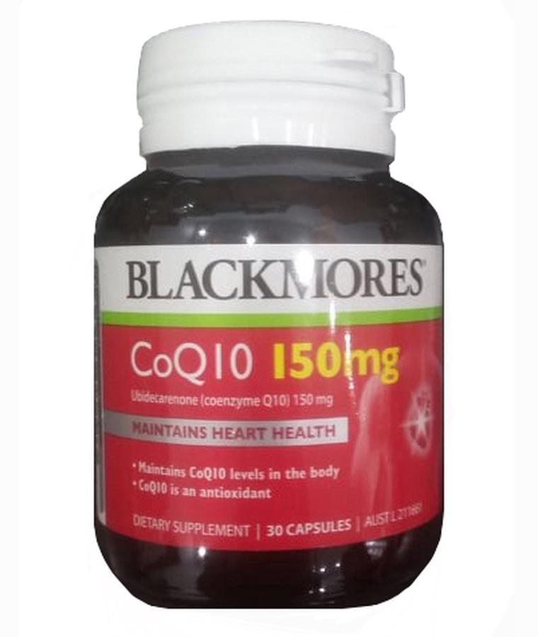 Viên uống bổ tim mạch Blackmores CoQ10 150mg của Úc