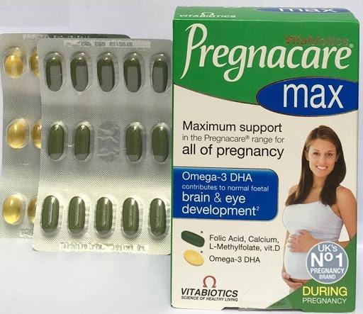 Vitamin tổng hợp cho bà bầu Pregnacare Max 84 Viên