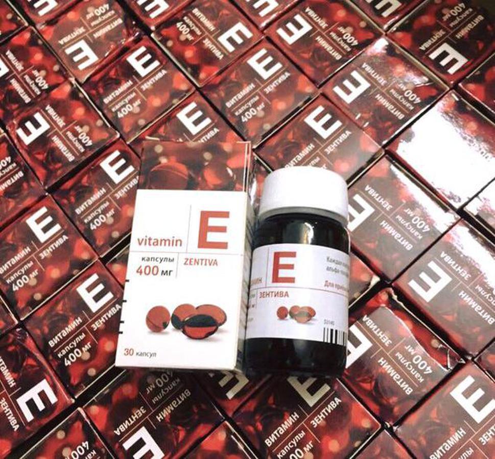 Vitamin E Zentiva 400mg