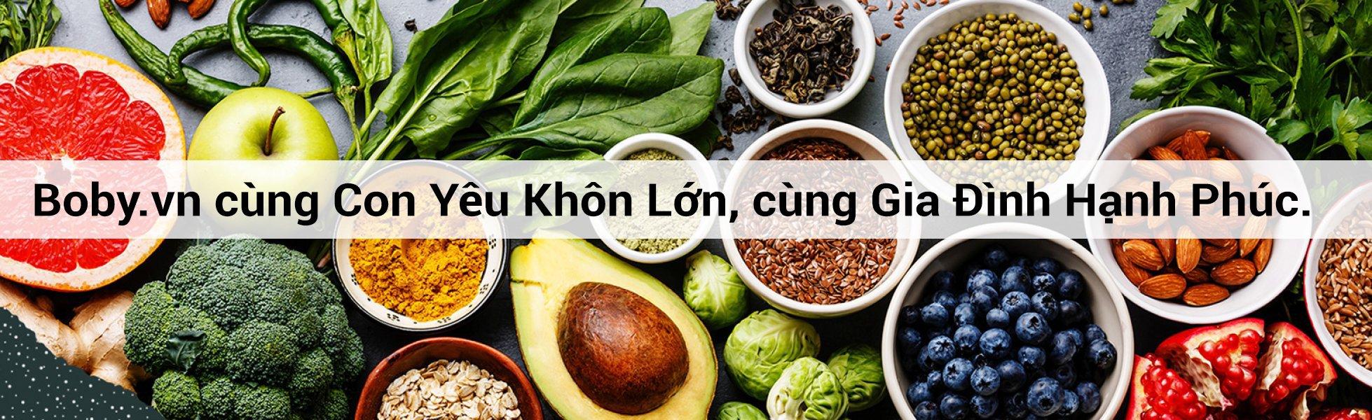 Thực phẩm tốt cho sức khỏe - Boby.vn